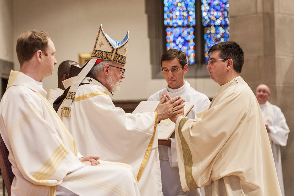 Bret Stockdale, SJ is ordained a Catholic deacon by Cardinal Sean O Malley, Archbishop of Boston