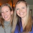 Claire Finley and Kara Connally
