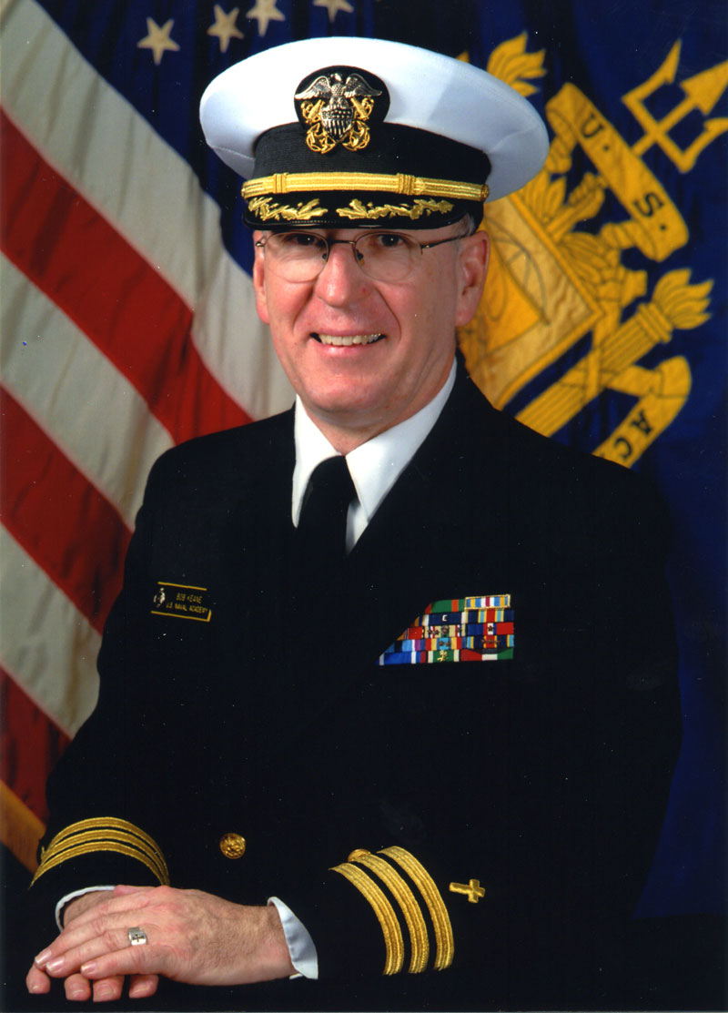 Fr. Robert Keane, SJ served as a Chaplain in the United States Navy
